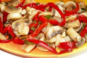 маринованные грибы фото