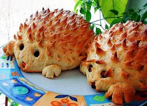 пирог Ежик фото