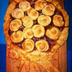 пирог с розами из теста рецепт фото
