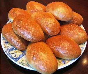 пирожки с капустой постные фото