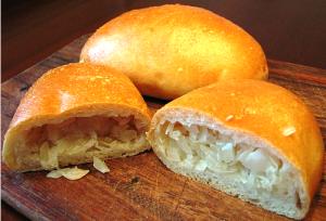 пирожки с капустой постные рецепт с фото