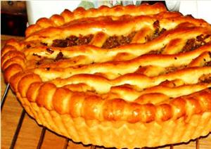 постный пирог с капустой рецепт с фото