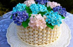 торт для женщины фото