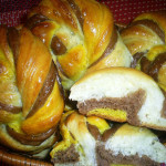 цветные булочки рецепт с фото