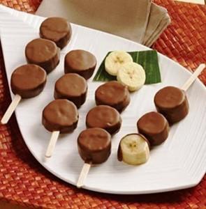 Бананы в шоколаде фото