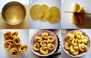 кружевные булочки рецепт с фото