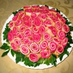 Салат весенний Букет рецепт фото