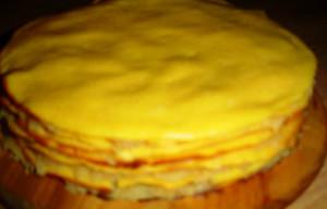 торт из тыквы рецепт с фото