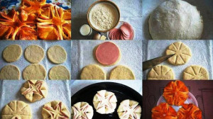 Колбасные цветочки рецепт с фото
