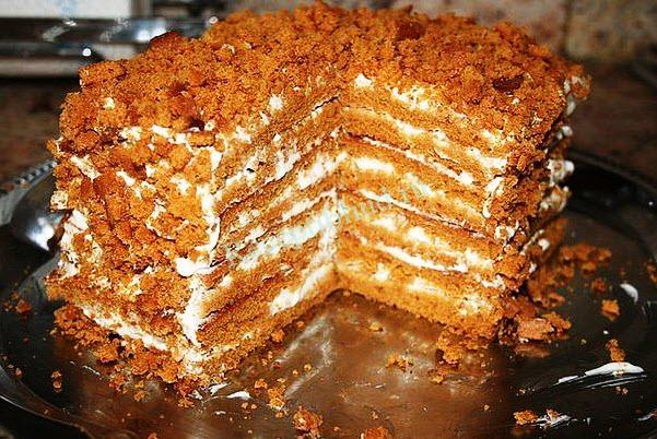 медовый торт рецепт с фото