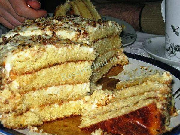 Нежный торт рецепт с фото