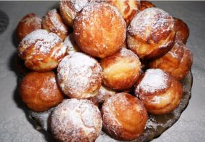 пончики из творога фото