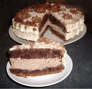 Торт Шоколад на кипятке рецепт с фото