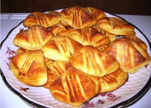 творожное печенье Гусиные лапки фото