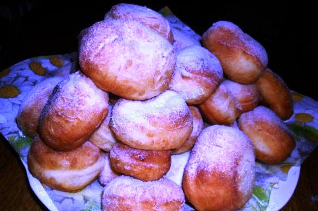 вкусные пончики рецепт с фото