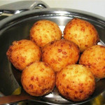 Вкусные творожные пончики фото
