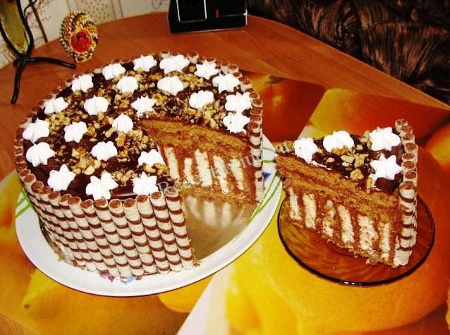 вкусный домашний торт фото