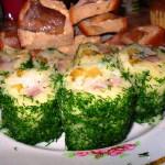 закусочные картофельные роллы фото