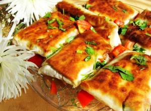 Филе рыбы в хрустящих конвертиках из лаваша – кулинарный рецепт