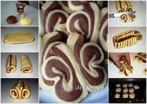 печенье бабочки рецепт с фото