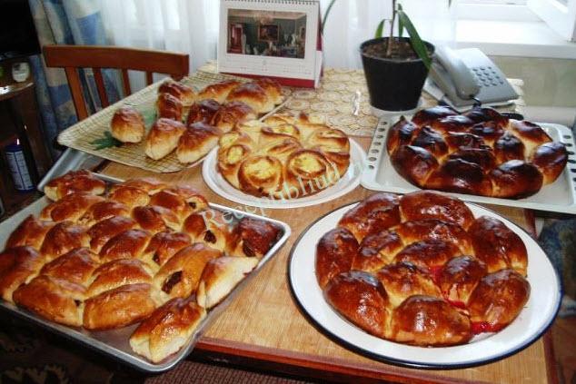 пирожки с вишней фото