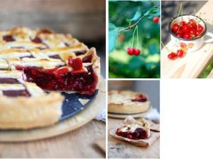 Вишневый пирог рецепт с фото