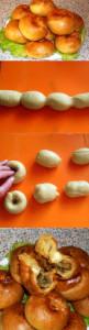 бабушкины слоистые пирожки рецепт с фото