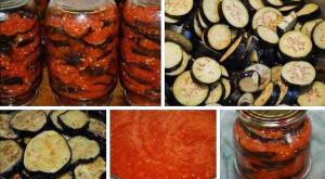 Баклажаны Огонек рецепт с фото