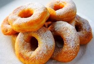 Дрожжевые пончики рецепт