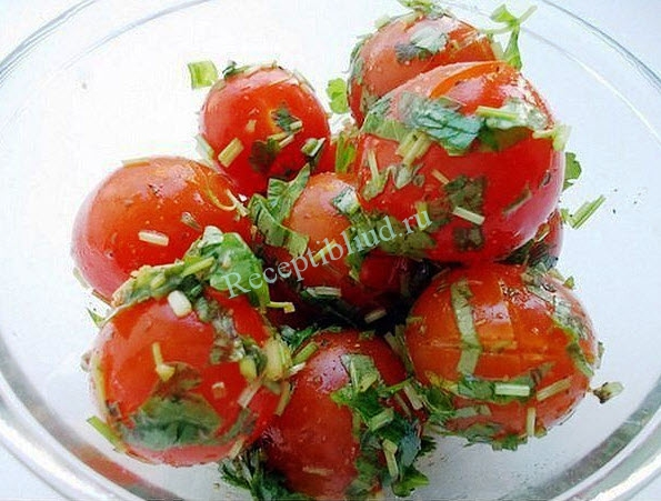 Малосольные помидоры на зиму фото