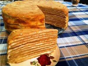 Торт медовик рецепт с фото