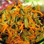 морковь по корейски с грибами фото