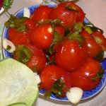 рецепт быстрых маринованных помидор фото