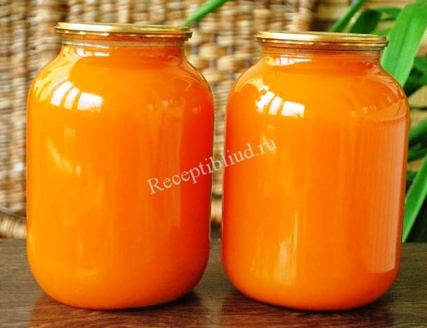 тыквенный сок рецепт с фото