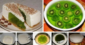 торт из киви рецепт с фото