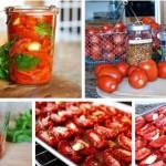 вяленые помидоры с базиликом фото