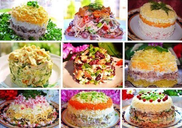 9 рецептов вкусных салатов фото