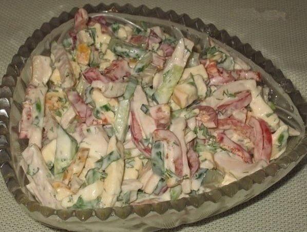 салат софия фото