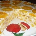 """Торт """"Фруктовая нежность"""" фото"""