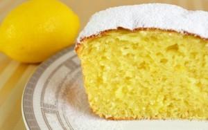 Творожный кекс с лимоном фото