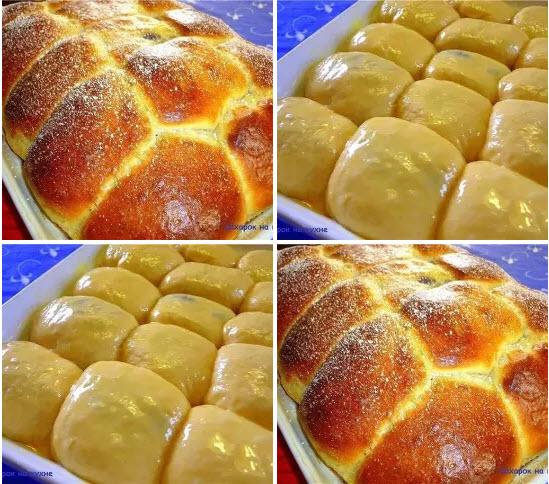 Баварские булочки
