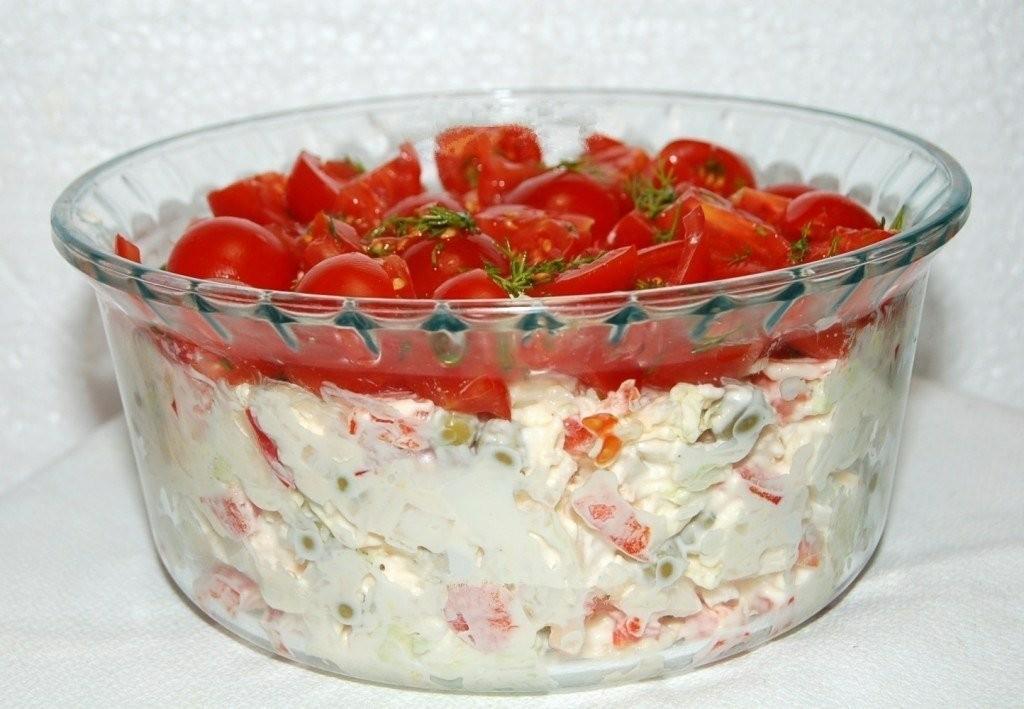 Салат «Красная шапочка»