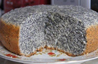 Мой фирменный пирог маковник