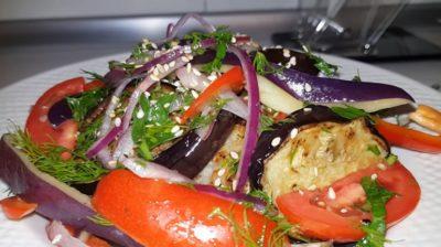 Самый вкусный салат из баклажанов