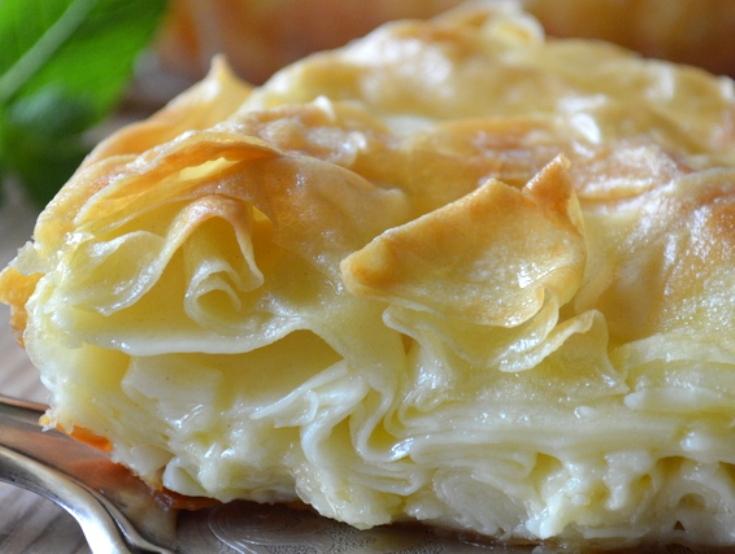 Ачма – грузинский слоеный пирог с сыром это вкуснейшее блюдо