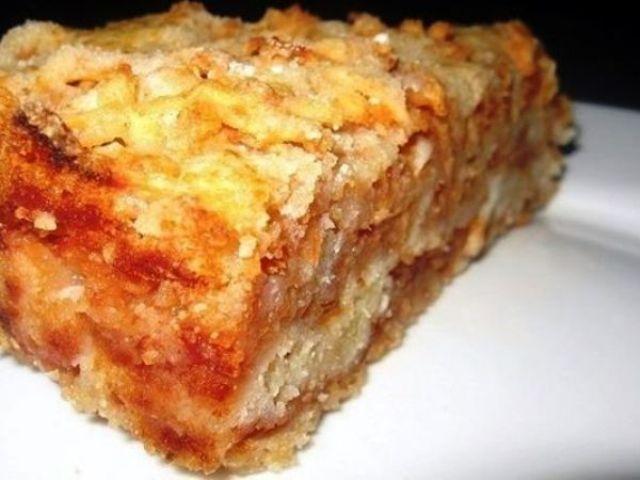 Самый вкусный сыпучий пирог с яблоками. Хит моей свекрови