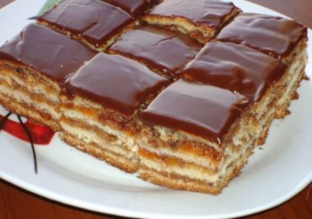 """Очень вкусное пирожное """"Грета гарбо"""" — рецепт лучших кондитеров!"""