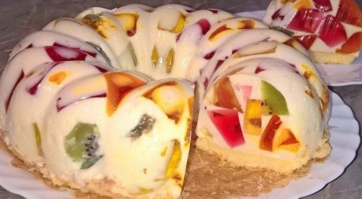 Тот самый легендарный торт без выпечки «Битое стекло»