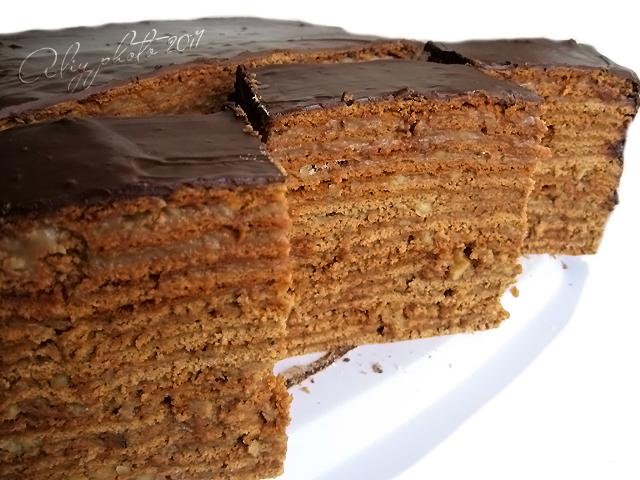 """Я со школьных времен пеку торт """"Дамский каприз"""" (шоколадный)"""