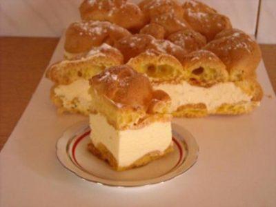 Торт Карпатка  любовь с первого кусочка